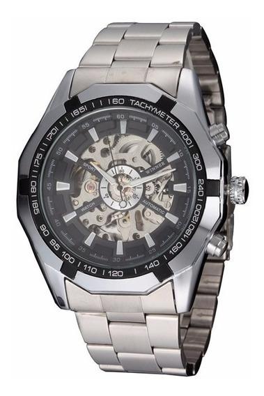 Relógio Importado Winner Skeleton Automático - Frete Grátis