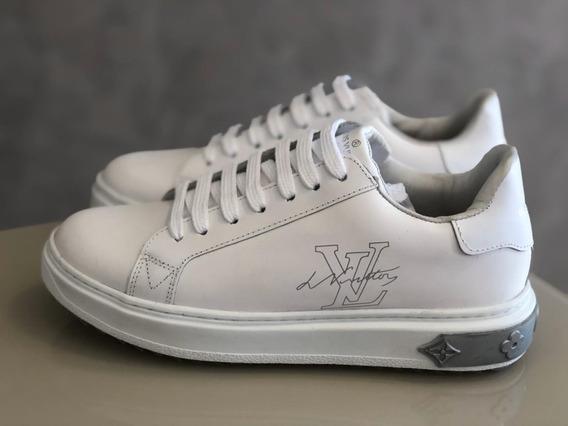 Sapatênis Tênis Louis Vuitton (linha Premium) Confortavel