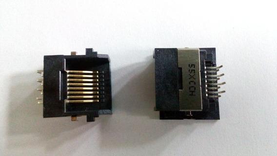 Conector Rede Rj45 Placa Mãe Notebook Asus X555
