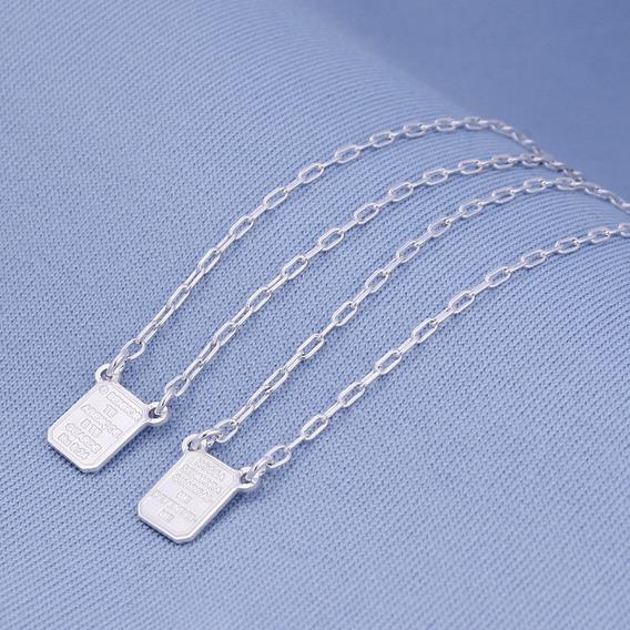 Escapulário Nossa Senhora Aparecida Pequeno Prata 925 2566
