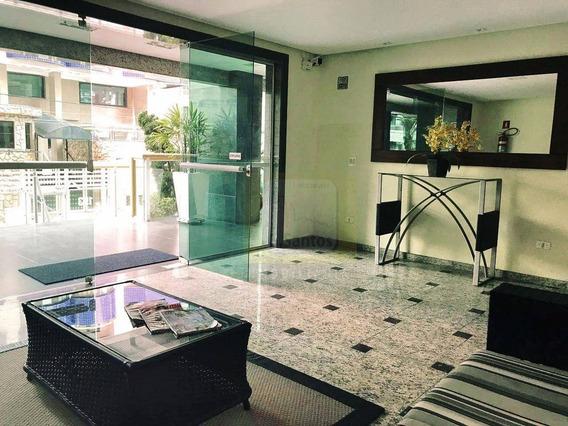 Apartamento Com 3 Dormitórios Para Alugar, 115 M² Por R$ 3.500,00/mês - Aviação - Praia Grande/sp - Ap0196