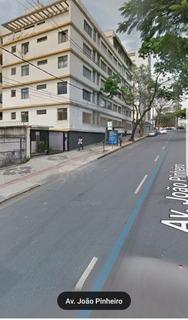 Apto Mobiliado De 02 Quartos Vaga Garagem Na Av João Pinheiro - Adr3825