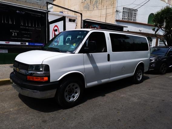 Chevrolet Express Ls 12 Pasajeros Elec