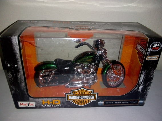 Harley Davidson Maisto Esc 1 12 2013 Xl 1200v Seventy-two