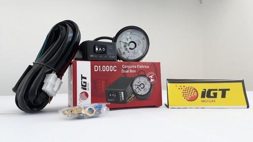 Conjunto Elétrico Igt D1000c + Emulador 4 Bicos Igt E40