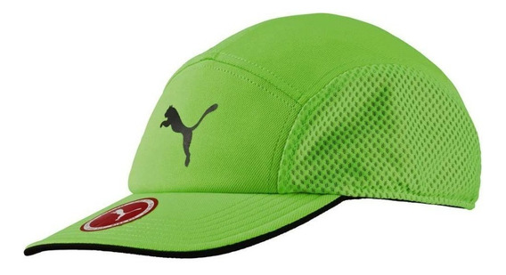 Gorra Puma Disc-fit Runner Cap Green Gecko