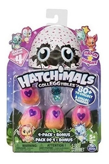 Hatchimal Con 4 Huevos + Figura Serie 4