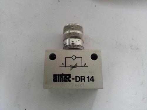 Regulador De Flujo De Rosca 12 Mm Npt 12703