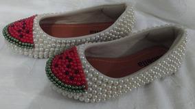 Sapato Infantil Personalizada Menina Para Festa