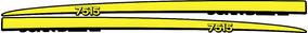 Adesivo Personalizar Trator John Deere 7515