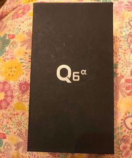 Celular LG Q6 Alpha Usado Con Detalles (en Caja)