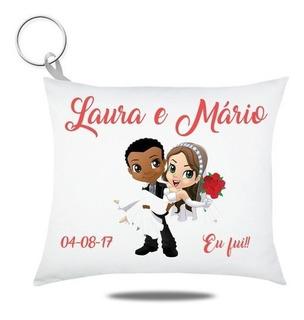 50 Chaveiro Personalizado Casamento Estampa Frente E Verso