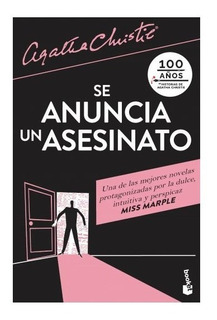 Libro Se Anuncia Un Asesinato - Agatha Christie