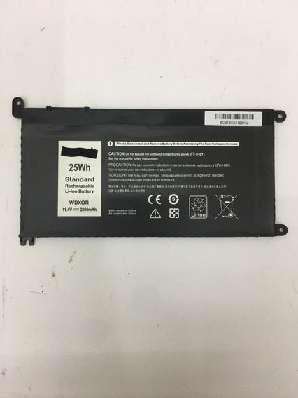 Bateria Wdxor Para Notebook Dell Inspiron I14-7460-a30s