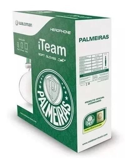 Fone De Ouvido Palmeiras - Headphone Waldman