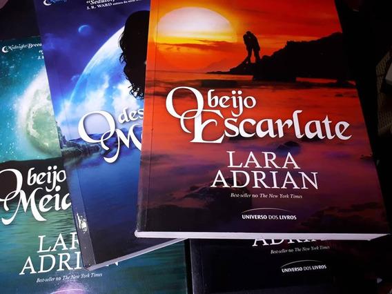 Lote C/4 Livros Saga Midnight Breed O Beijo Da Meia-noite