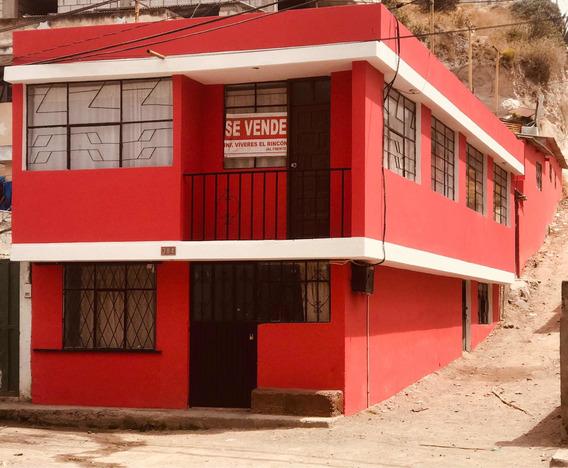 Casa 2 Pisos Con Bodegas