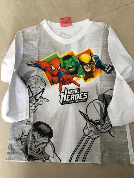 Remera Súper Héroes Marvel
