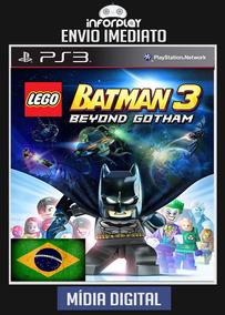 Lego Batman 3 Português Ps3 Psn Envio Imediato