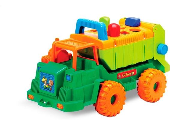 Caminhão Multiformas Com Blocos De Encaixar Gulliver