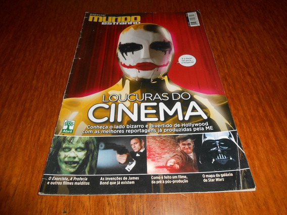 Revista Mundo Estranho: Loucuras Do Cinema.