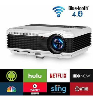 Proyector Eug 4600 Lumen Home Inhalámbrico Wifi Bluetooth ®