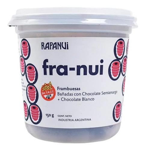 Franui Con Chocolate Amargo Y Blanco X 150g