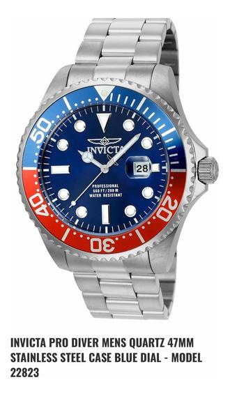 Reloj Invicta Pro Diver 22823 Wt 200 M 100% Original Remate
