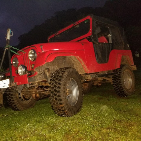 Jeep Willis Nunca Foi Colocado Na Trilha