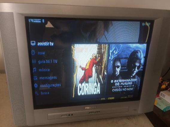 Tv Philips Estéreo 25 Real Flat - Seminova