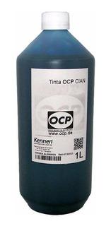 Tinta Alemana Ocp Para Epson T50 1430 1410 Cian 1 Litro