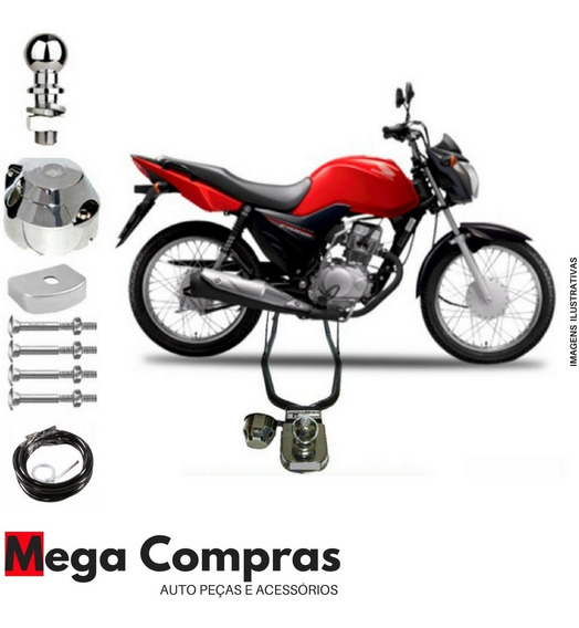 Engate De Reboque Moto Honda Fan Titan 125 150 160