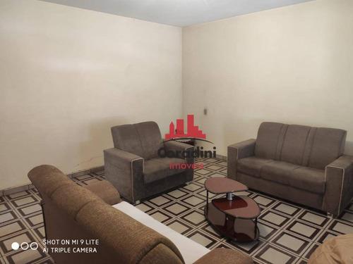 Imagem 1 de 9 de Casa Com 4 Dormitórios À Venda, 208 M² Por R$ 250.000 - Jardim Santa Rosa - Nova Odessa/sp - Ca2451