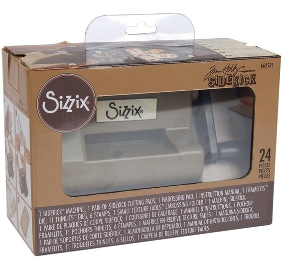 Sizzix Sidekick 24 Piezas Kit Tim Holtz