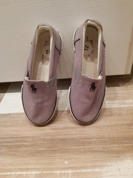 Zapatillas Panchas Niño Polo Ralph Lauren