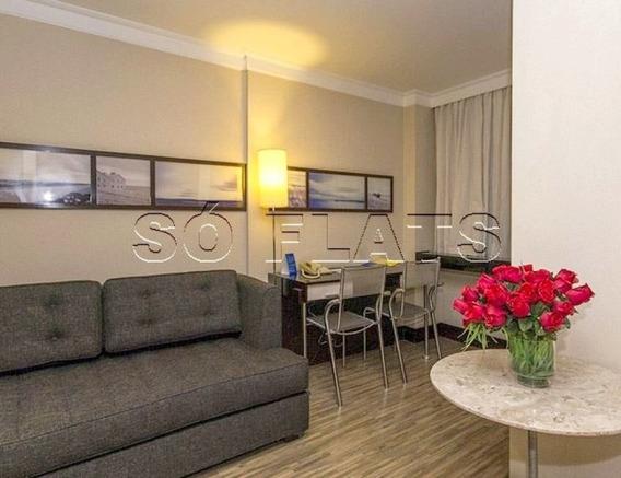 Excelente Flat Nos Jardins, Proximo A Shoppings, Metrô, Principais Vias Com Paulista E 23 De Maio - Sf27879