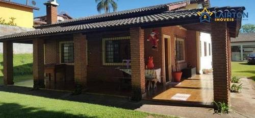 Chácara Com 3 Dormitórios À Venda, 1000 M² Por R$ 550.000,00 - Sítio Da Moenda - Itatiba/sp - Ch1308