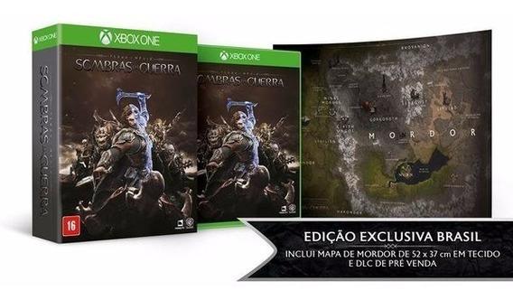 Jogo Mídia Física Sombras Da Guerra Português Xbox One