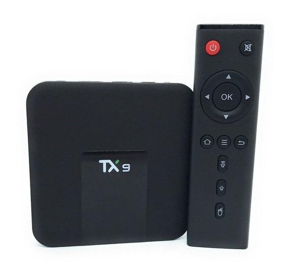 Tv Box Tx9 Aparelho Para Transformar Tv Comum Em Smart