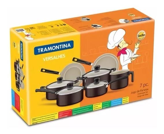 Bateria Cocina Tramontina Linea Versalhes X 7 Piezas Oferta!