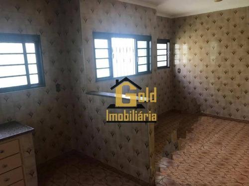 Casa Com 2 Dormitórios À Venda, 95 M² Por R$ 278.200 - Vila Virgínia - Ribeirão Preto/sp - Ca0624