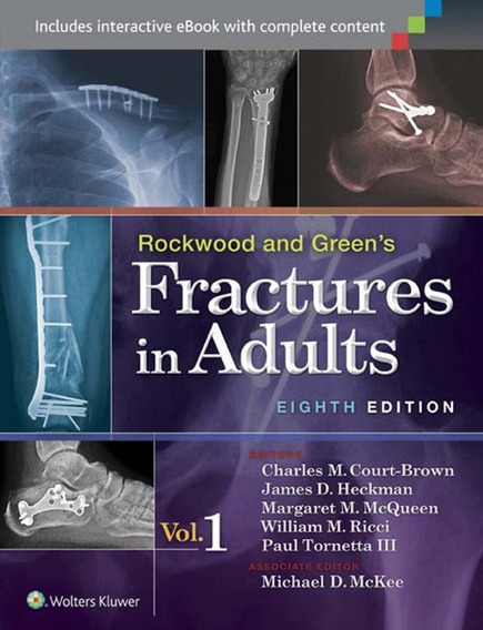 Rockwood Fractures In Adults 8ª Ed. 2015 ( Inglês )