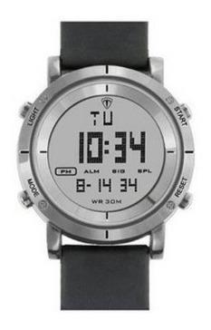 Relógio Masculino Tuguir Digital Tg6017 Prata E Preto