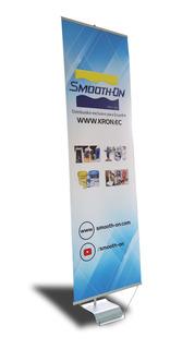 Porta Banner 60 Cm X 200 Cm Aluminio