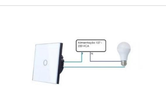 Interruptor De Toque De Vidro Touch Uma Lampada 127-220v