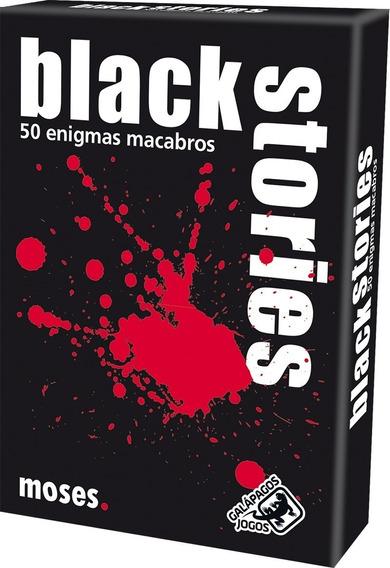 Jogo De Cartas Black Stories 1 - Galápagos Jogos