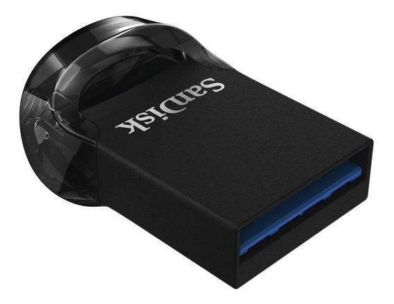 Mini Pendrive 128gb Cz430 Sandisk Ultra Fit 3.1 Original