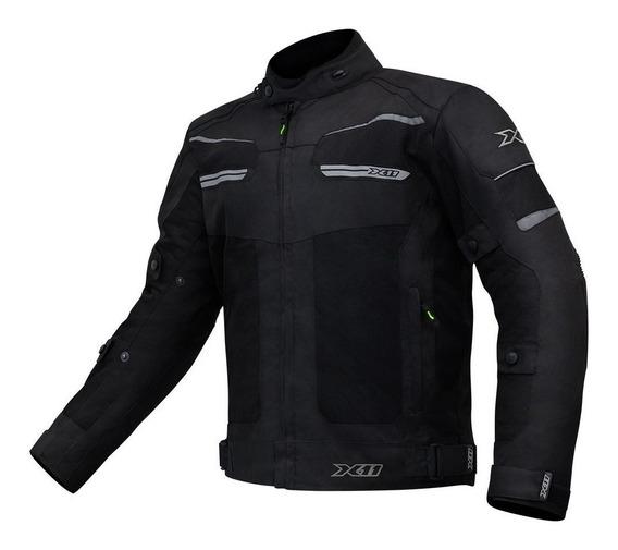 Jaqueta Motociclista X11 Breeze Impermeável E Ventilada
