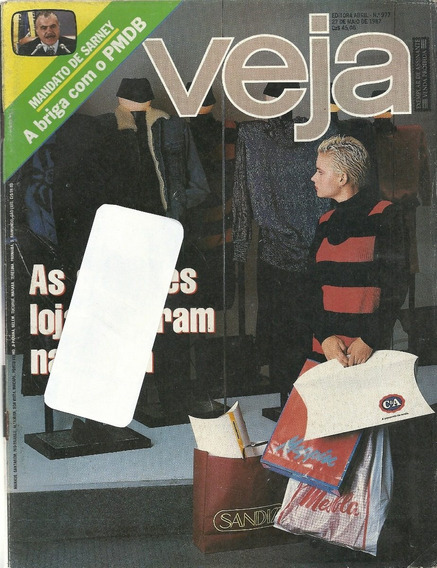Revista Veja 977 - As Grandes Lojas Entram Na Moda - Dy
