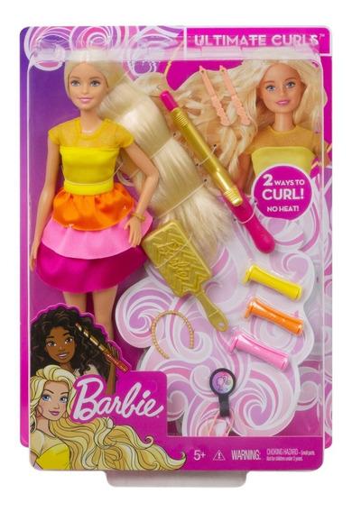 Barbie Fashionista, Peinados De Ensueño